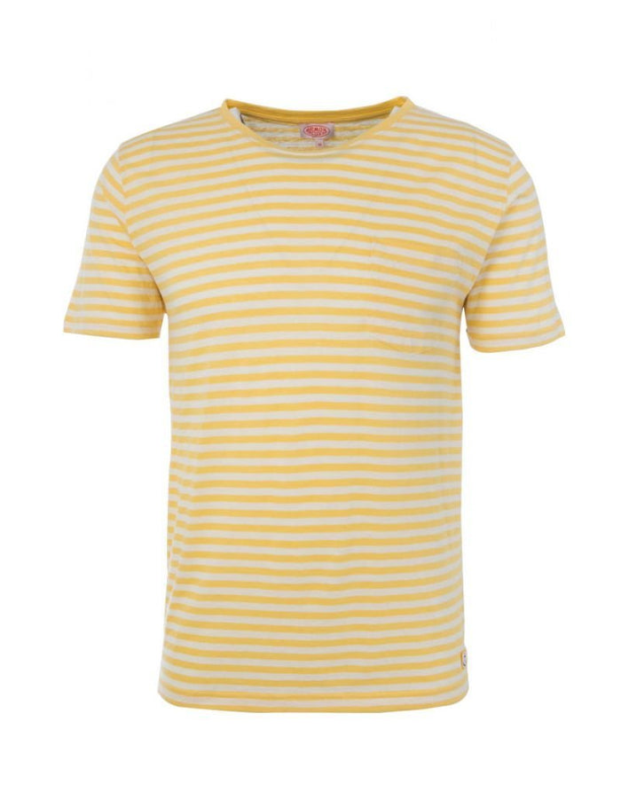 Armor-Lux Striped Heritage T-Shirt (76023), Blondeur/Nature