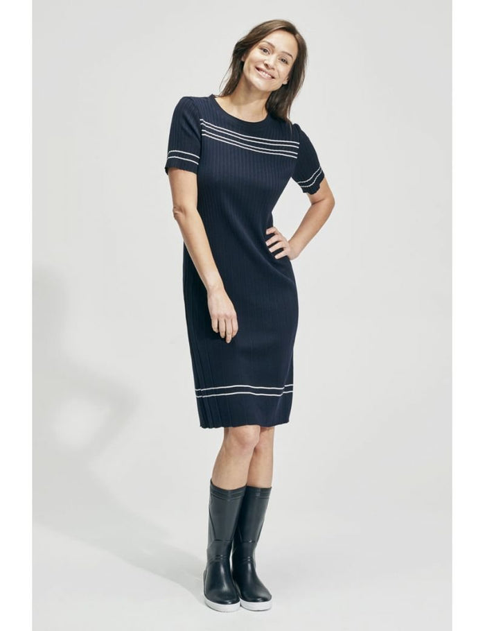 Armor-Lux Short Sleeve Dress (78172), Navy