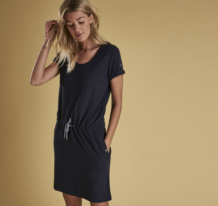 Barbour Baymouth Dress, Navy