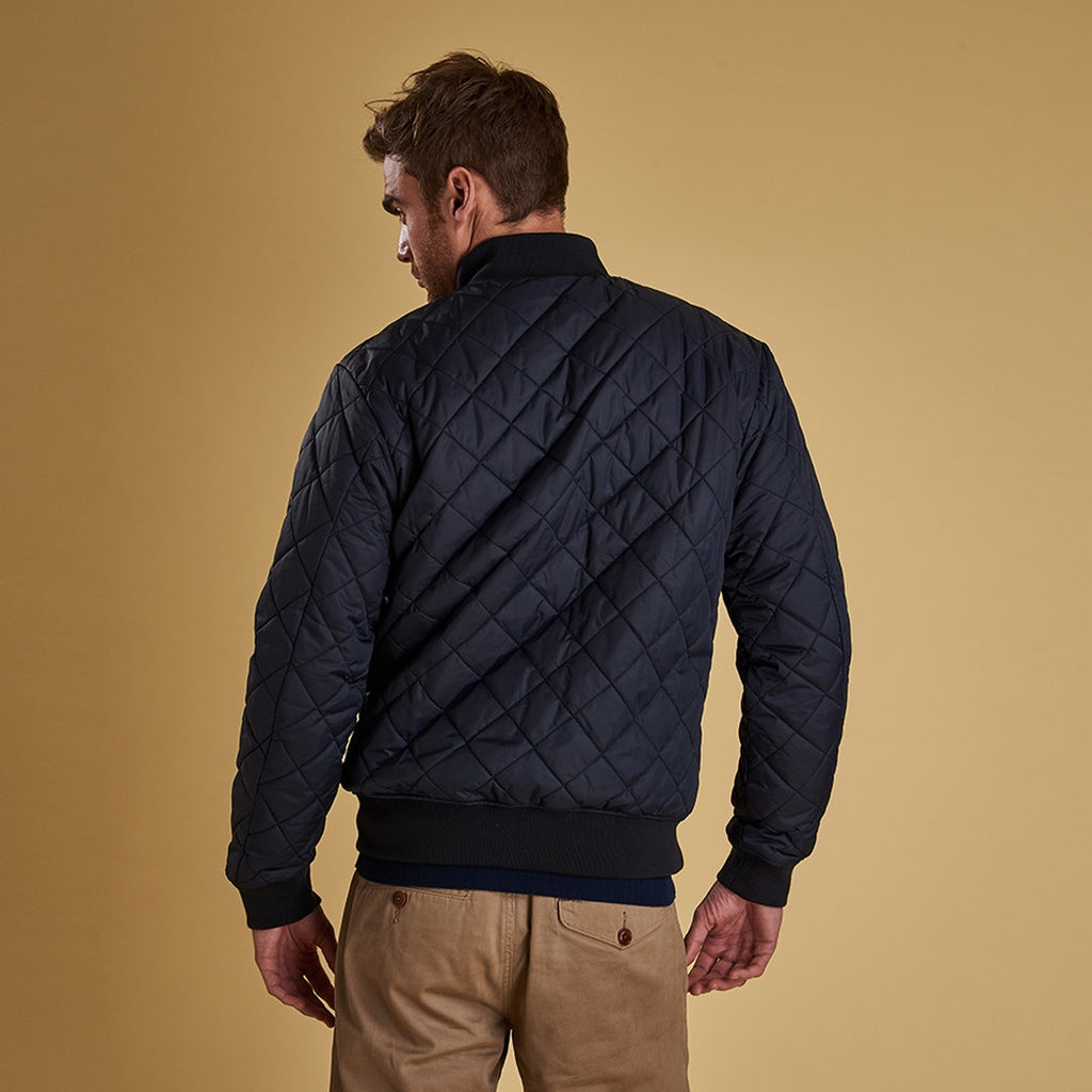Barbour Blotter Quilt Jacket, Navy