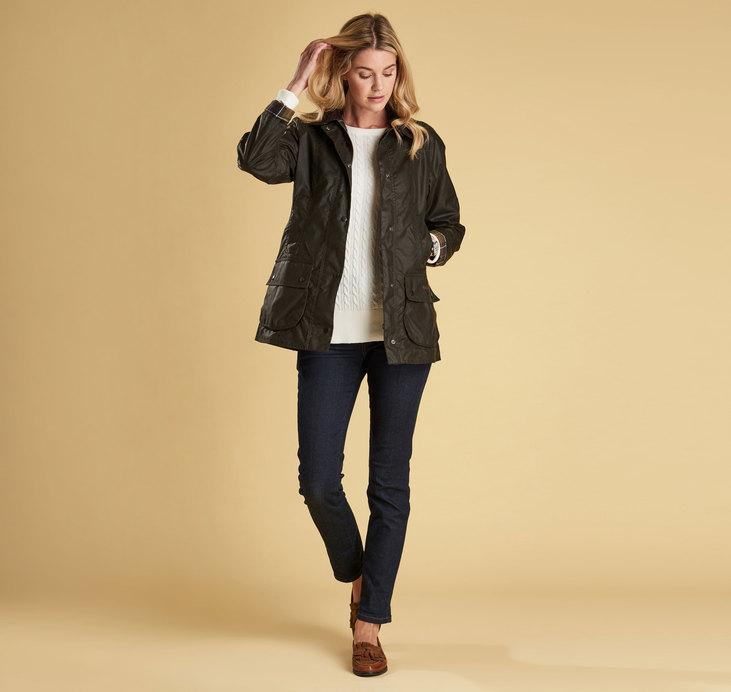 Barbour Beadnell Jacket, Olive
