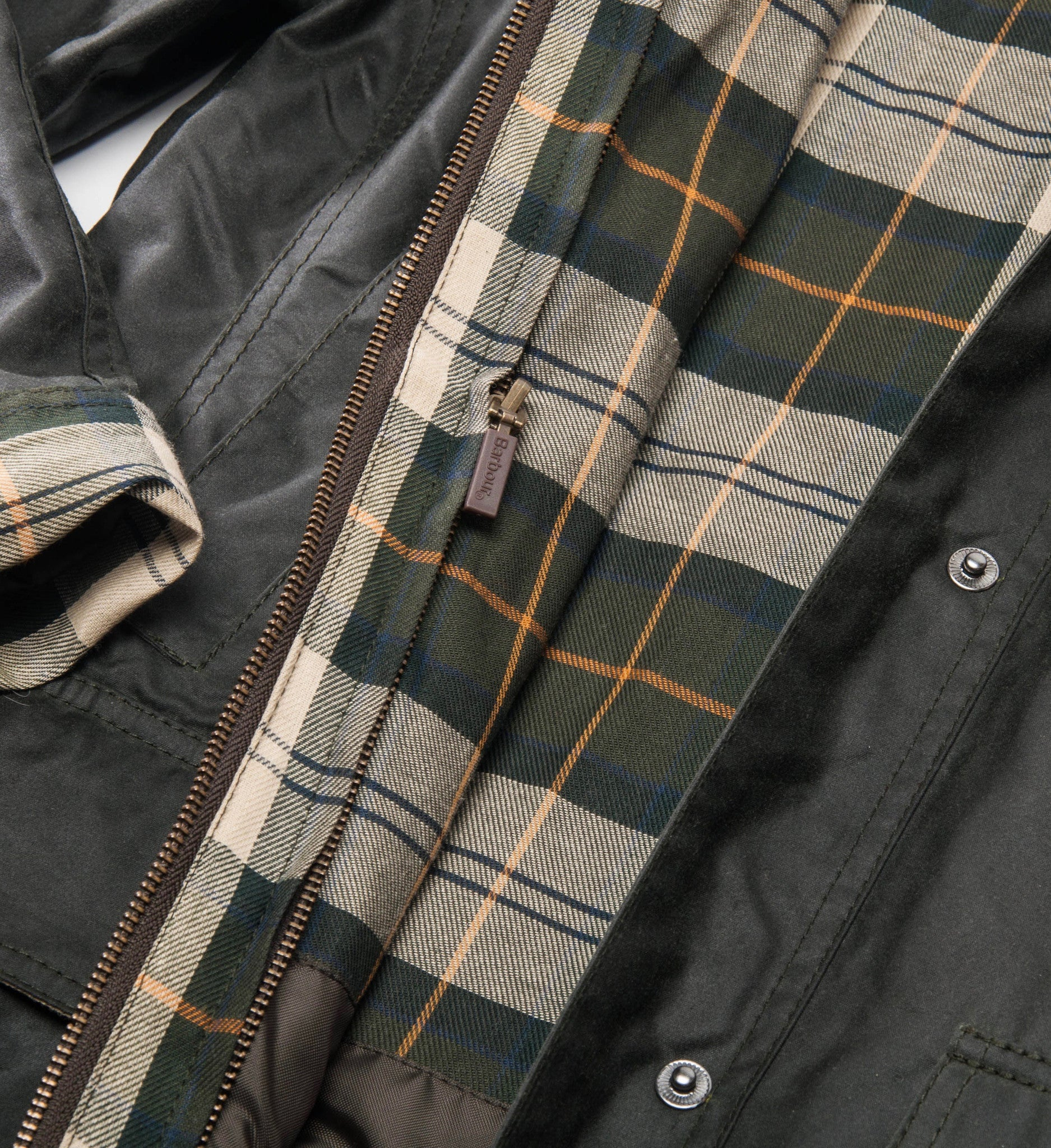 Barbour Classic Beadnell Wax Jacket, Sage