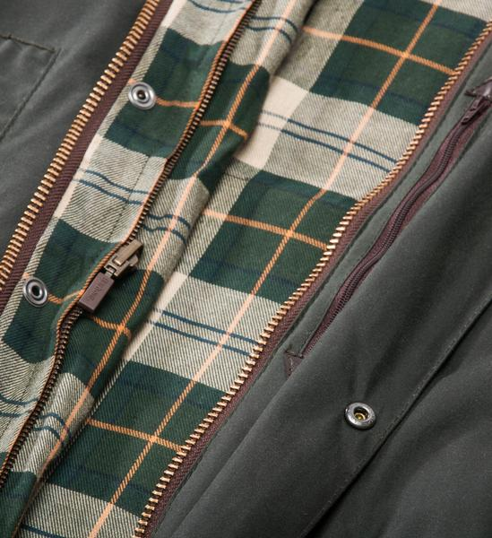 Barbour Classic Beaufort Wax Jacket, Sage