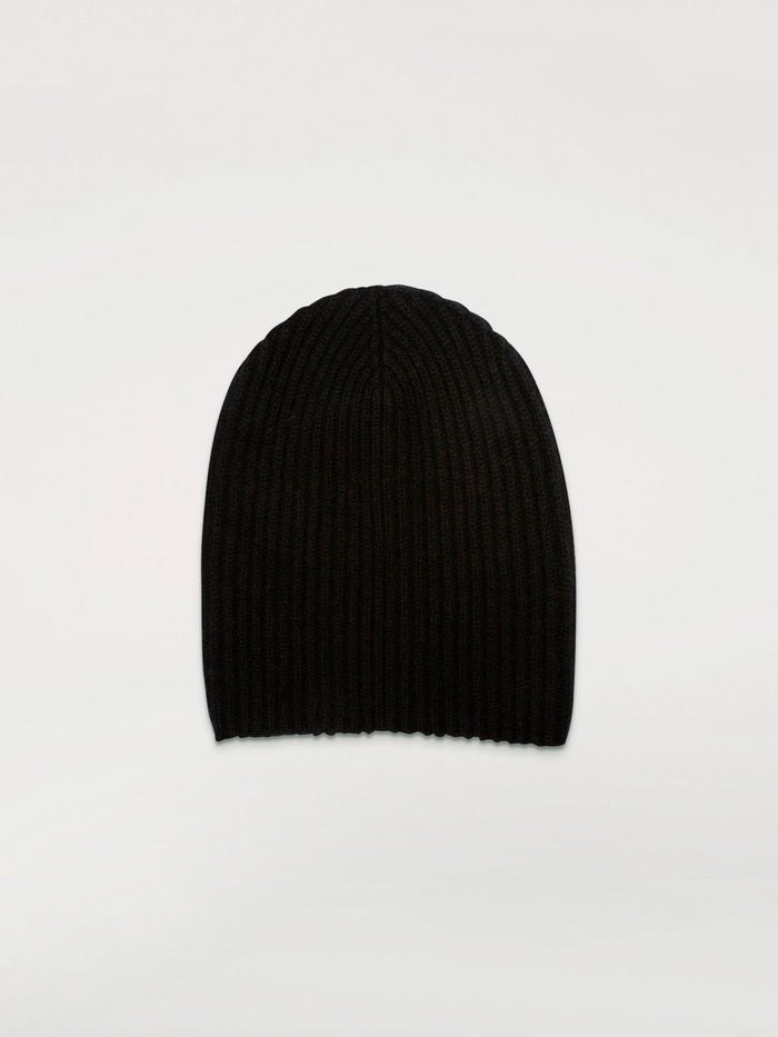 Begg & Co Cashmere Alex Beanie, Black
