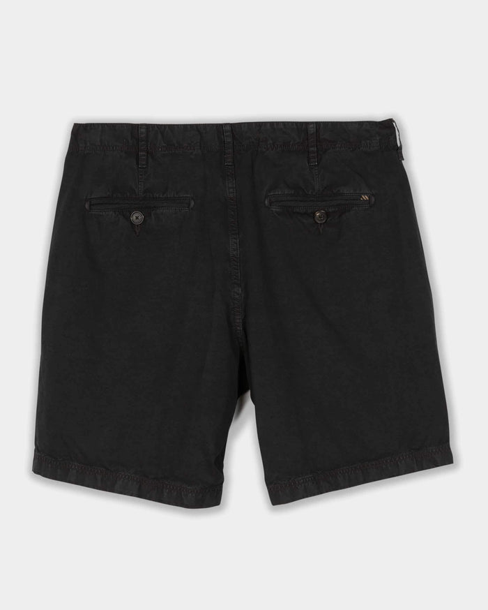 Billy Reid Pima Cotton Chino Short, Black