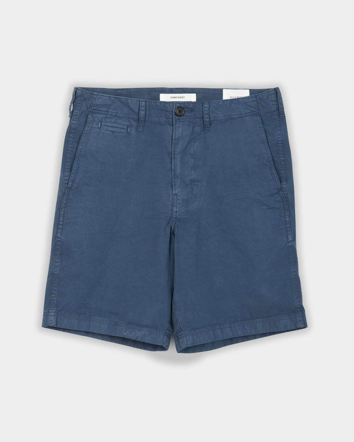 Billy Reid Pima Cotton Chino Short, Dress Blues