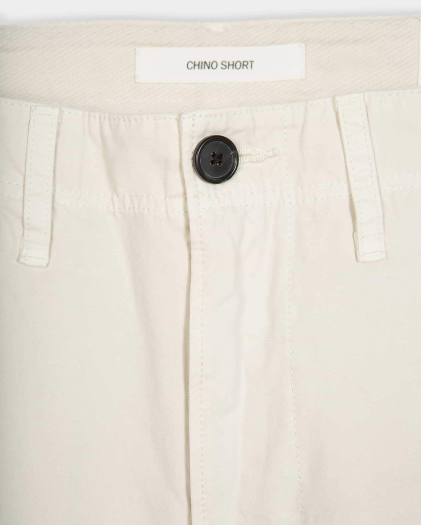 Billy Reid Pima Cotton Chino Short , Eggshell