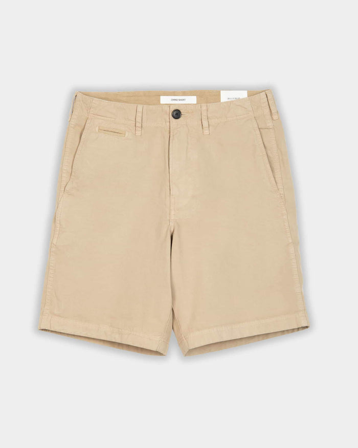 Billy Reid Pima Cotton Chino Short, Khaki
