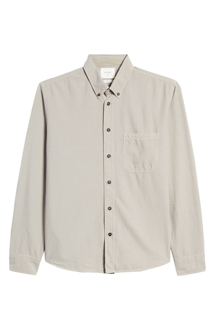 Billy Reid Washed Oxford Tuscumbia Shirt, Stone