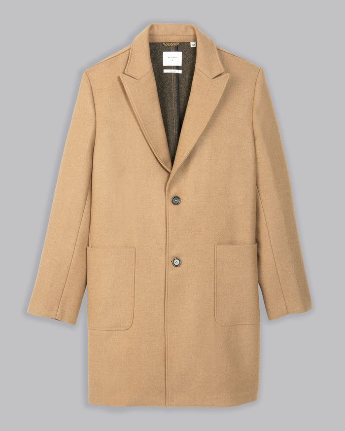 Billy Reid Camelhair Coat, Camel