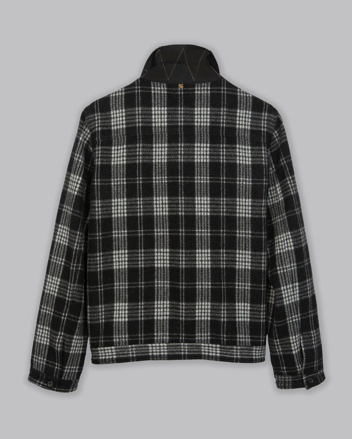 Billy Reid Combo Shirt Jacket, Black