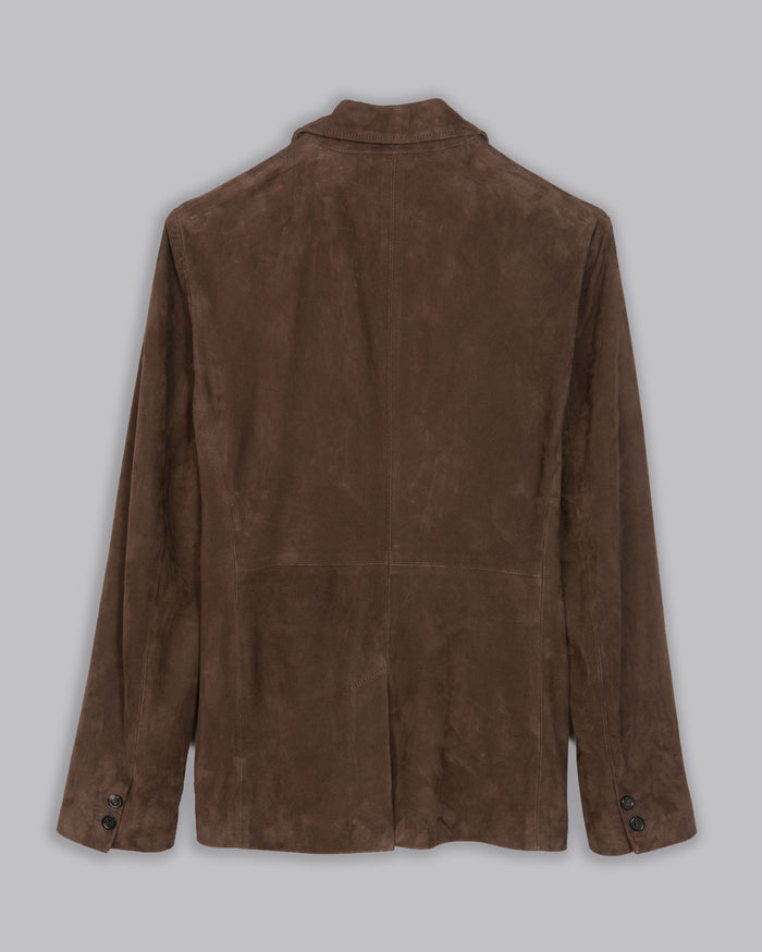 Billy Reid Suede Sportcoat, Chocolate