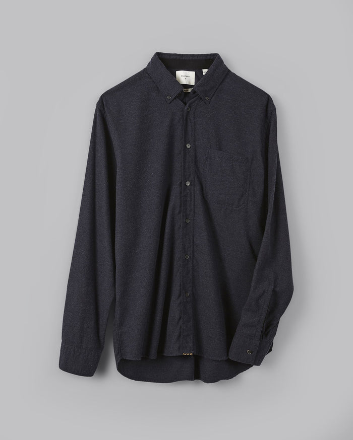 Billy Reid Tuscumbia Button Down Shirt, Navy