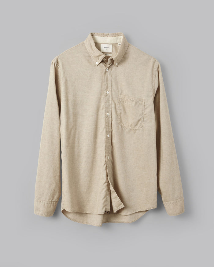 Billy Reid Tuscumbia Button Down Shirt, Tan
