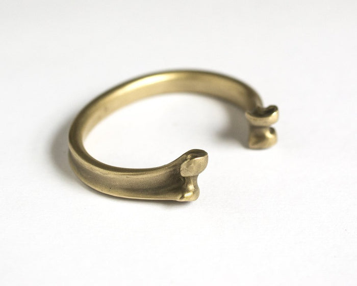 Cat Bates Seagull Bone Cuff