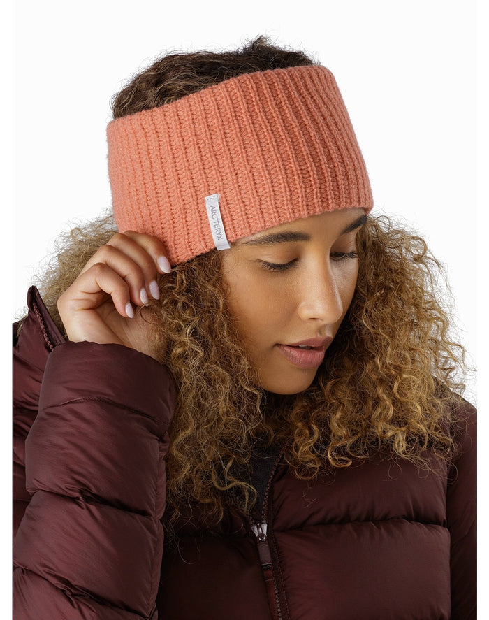 ARC'TERYX Chunky Knit Headband, Sedna Heather