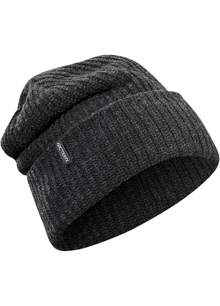 ARC'TERYX Chunky Knit Hat, Black Heather