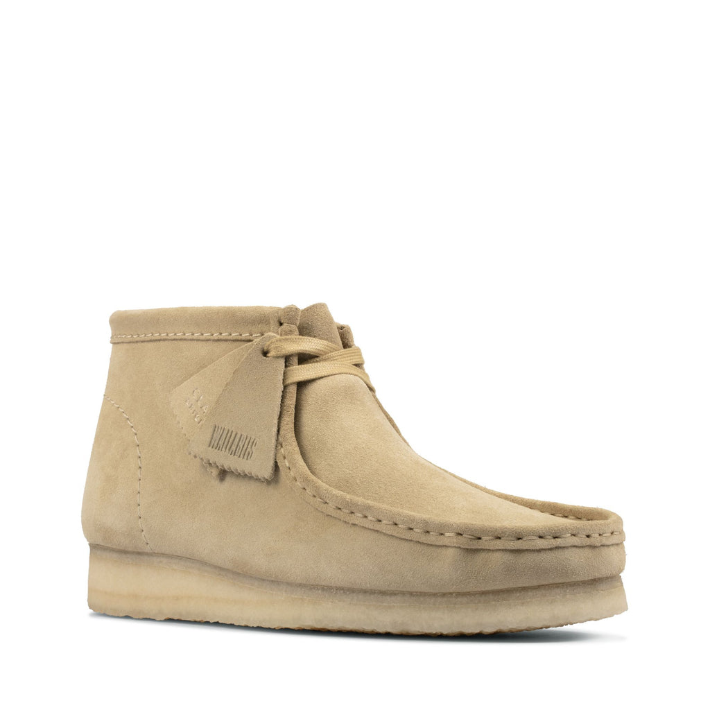Clarks Wallabee Boot, Maple Suede