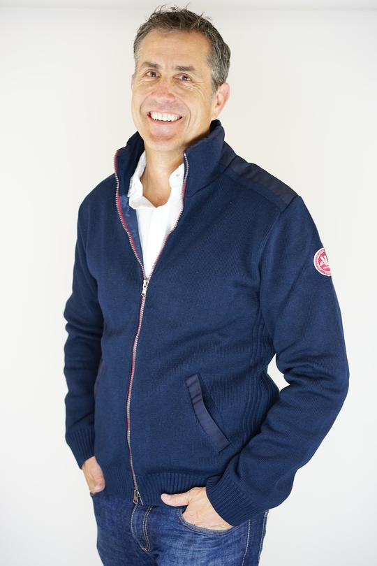 Holebrook Gregor WP Cotton Full Zip, Navy