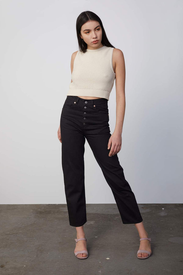 Decade Bonnie Jeans, Black Rinse