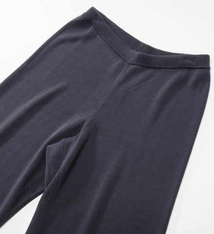 Eileen Fisher Wide Crop Pant, Graphite