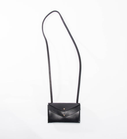 Farrell & Co. Mini Double Envelope Bag, Black