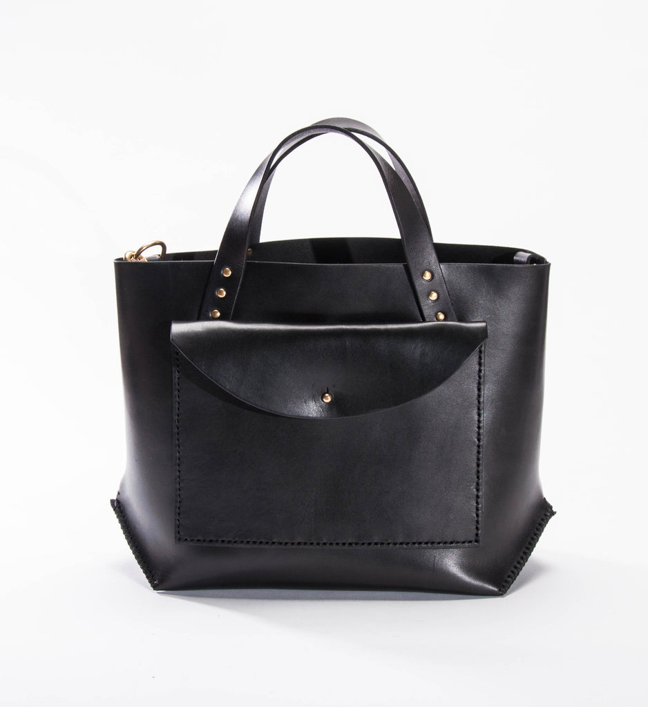 Farrell & Co. Pocket Tote, Black