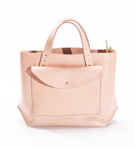 Farrell & Co. Pocket Tote, Natural