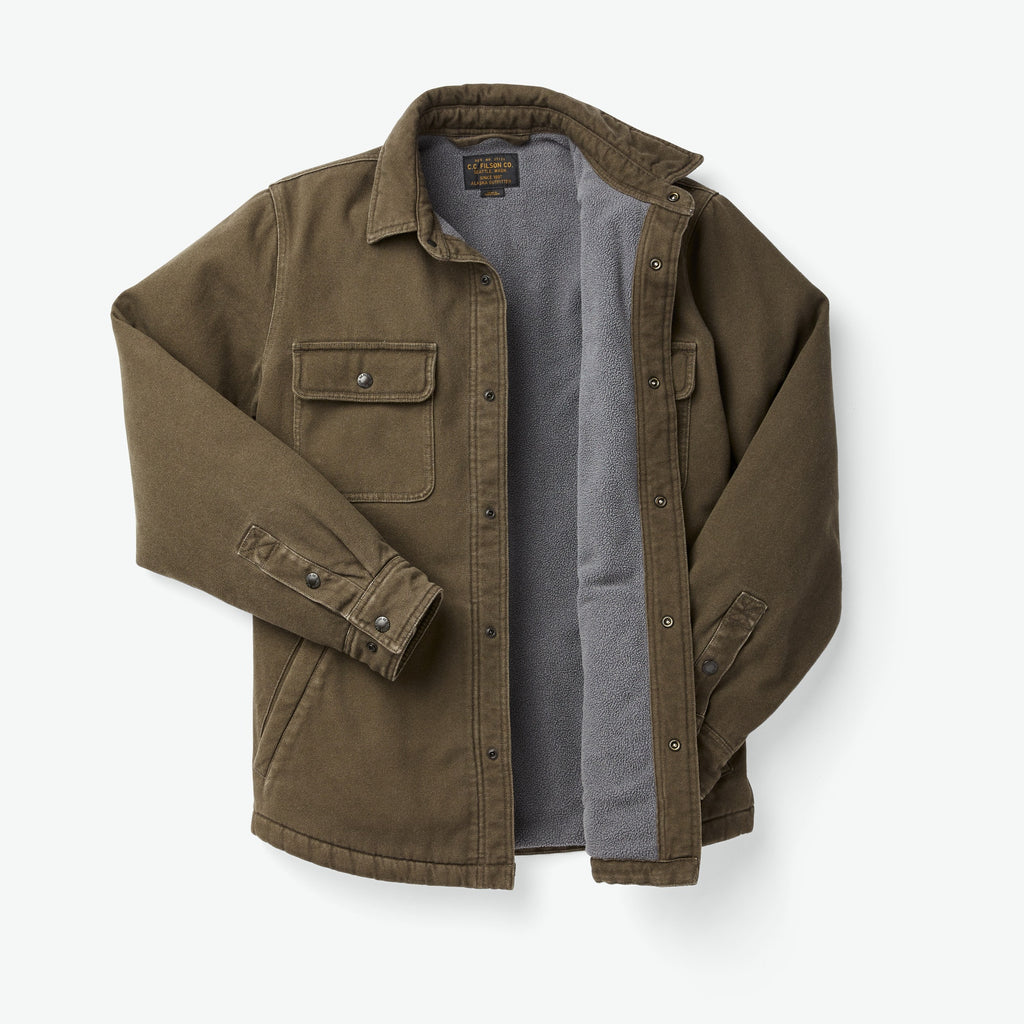 Filson Fleece Lined Jac Shirt, Root