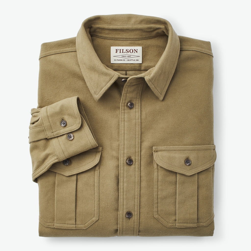 Filson Moleskin Seattle Shirt, Lovat