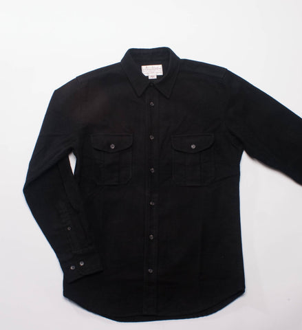 Filson Moleskin Seattle Shirt Black