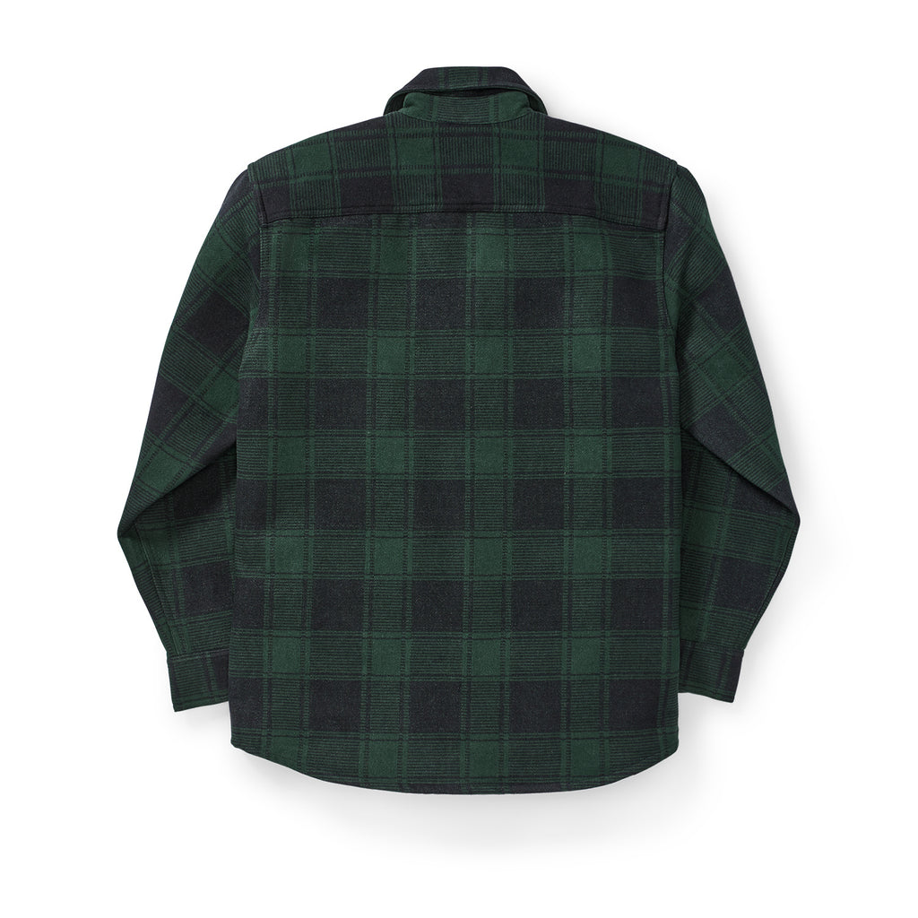 Filson Beartooth Jac Shirt, Black/Green Plaid