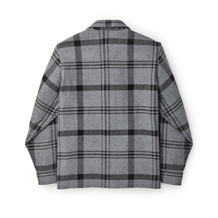 Filson Deer Island Jac Shirt, Heather/Gray Black Plaid