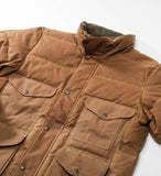 Filson Down Cruiser Jacket, Dark Tan