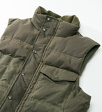 Filson Down Cruiser Vest, Otter Green