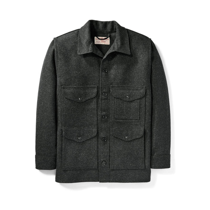 Filson Mackinaw Wool Cruiser, Charcoal