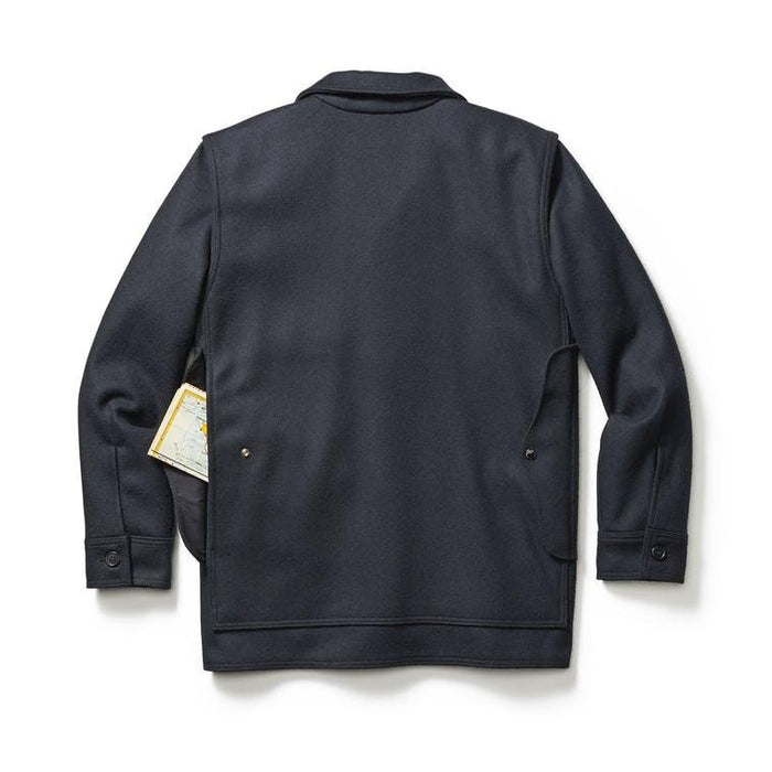 Filson Mackinaw Wool Cruiser, Dark Navy