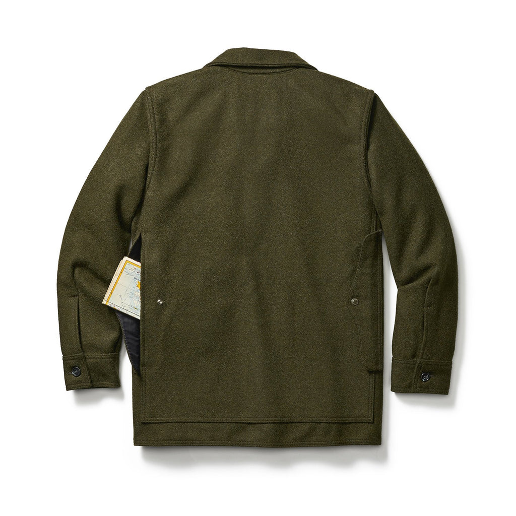 Filson Mackinaw Wool Cruiser, Forest Green