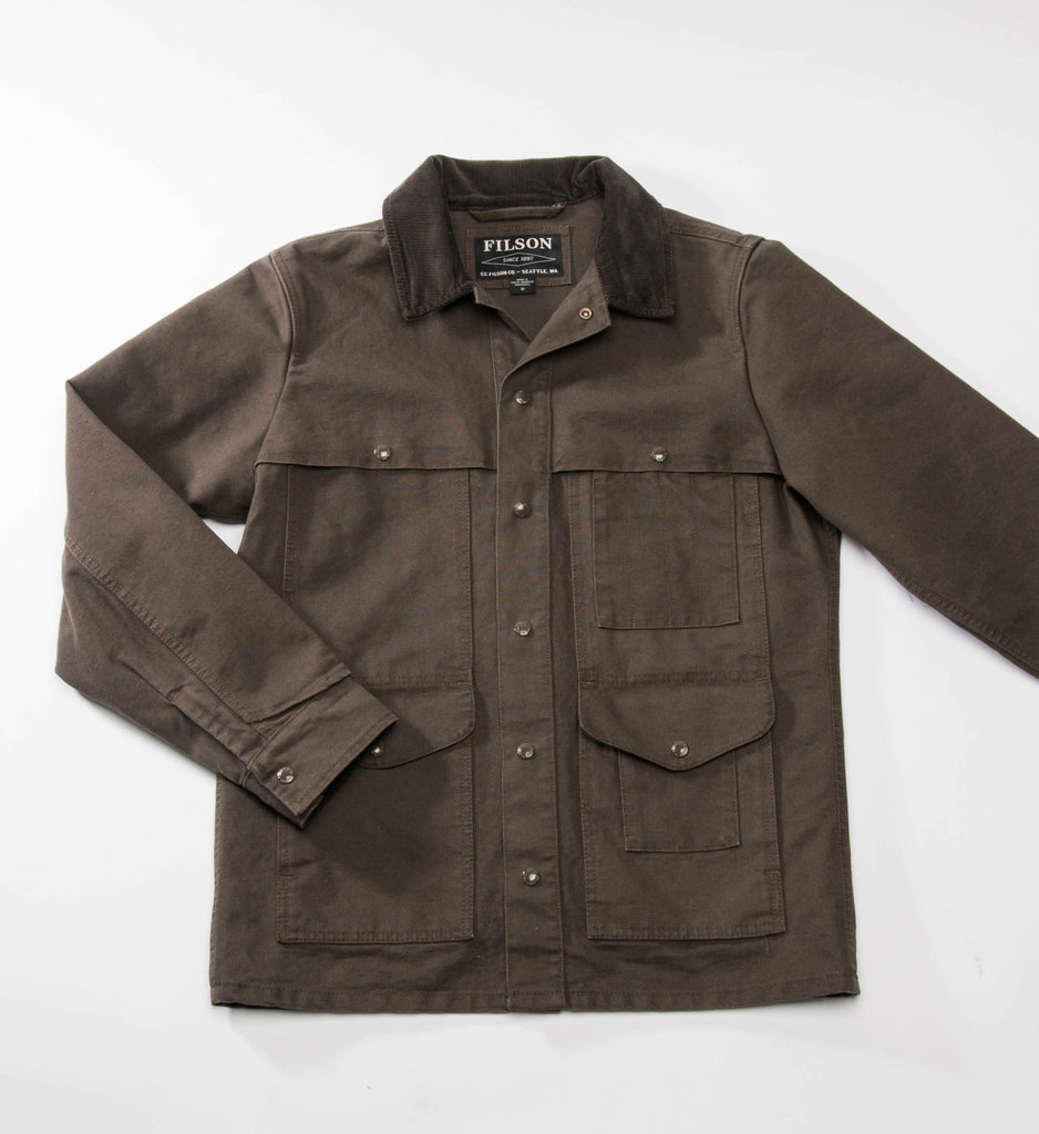 Filson Stonewashed Canvas Cruiser, Otter Green
