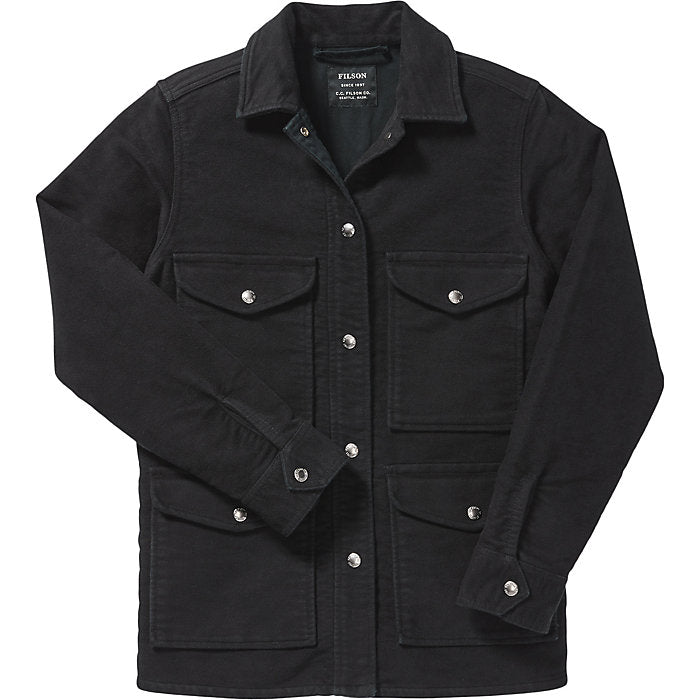 Filson Point Hope Jac Shirt, Black