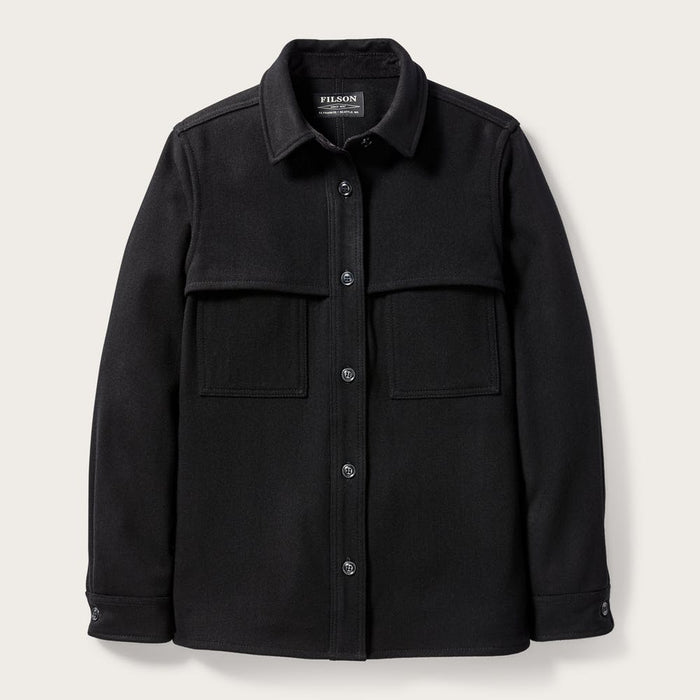 Filson Wool Jac-Shirt, Black