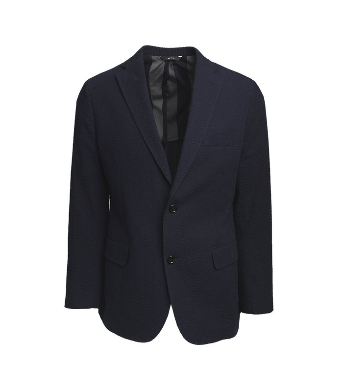 Freemans Sporting Club Sport Coat Seersucker, Navy
