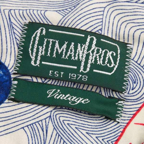9204ded9 Gitman Vintage Button Down Camp Shirt, Lost at Sea – Portland Dry ...