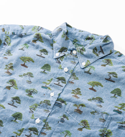 Gitman Vintage Bonsai Chambray Button Down Shirt