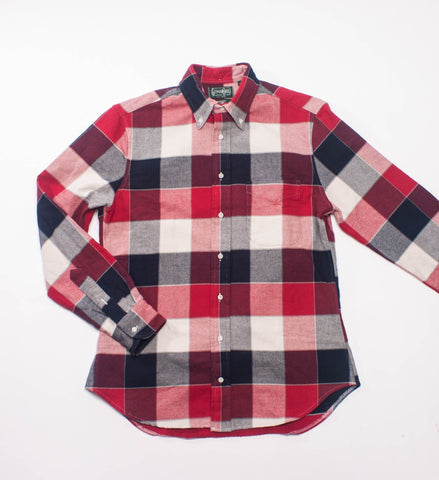 Gitman Vintage Red/White/Blue Double-Face Twill BD Shirt