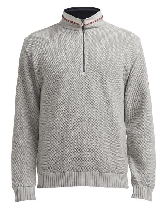Holebrook Classic Sweater, Light Grey