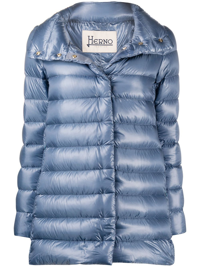Herno Amelia Quilted Down Jacket, Ortensia