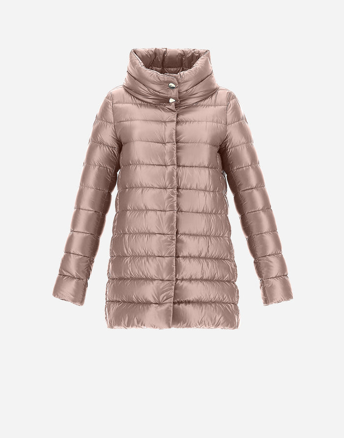 Herno Amelia Quilted Down Jacket, Pink