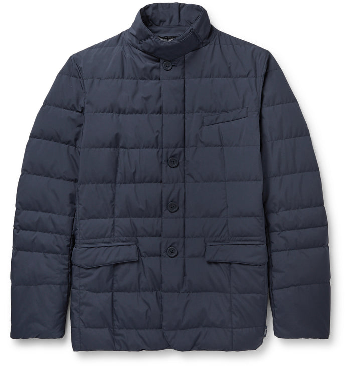 Herno Woven Jacket PI108UL, Blue