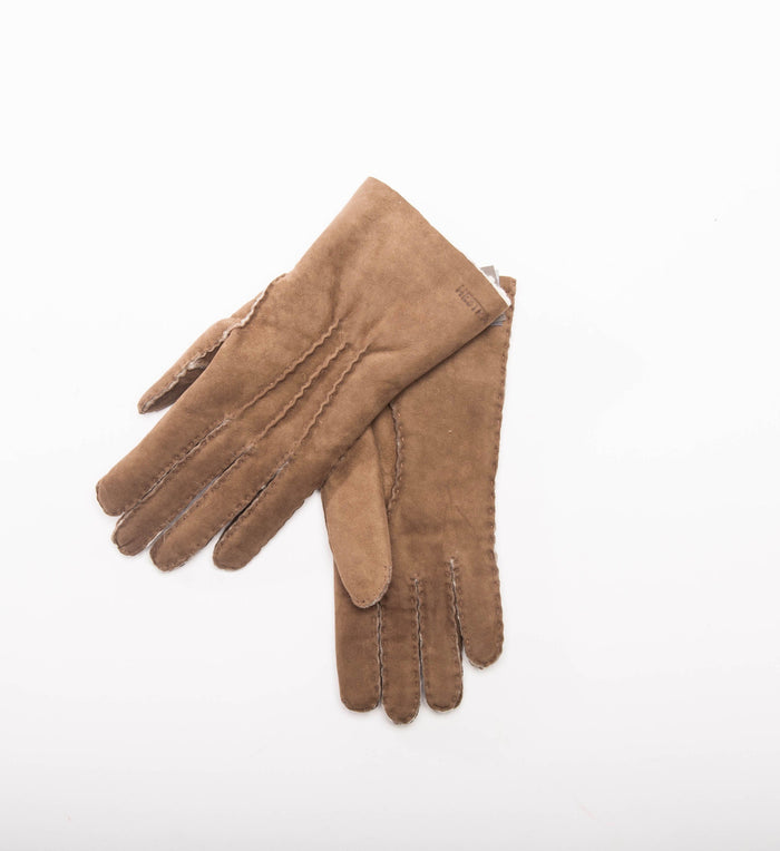 Women's Hestra Sheepskin Gloves, Beige